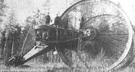 strange old timey inventions, tank
