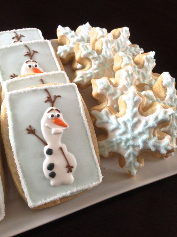 the cutest olaf cookies 6
