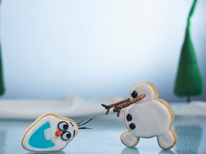the cutest olaf cookies 8