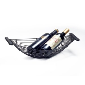 modern boat black large wire fruit basket decorative fruit bowl