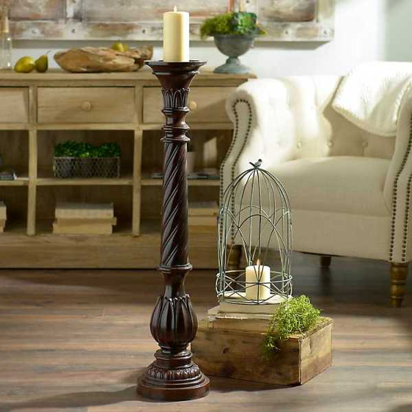 Candle Holders - Twisted Candle Holder, 36 in.