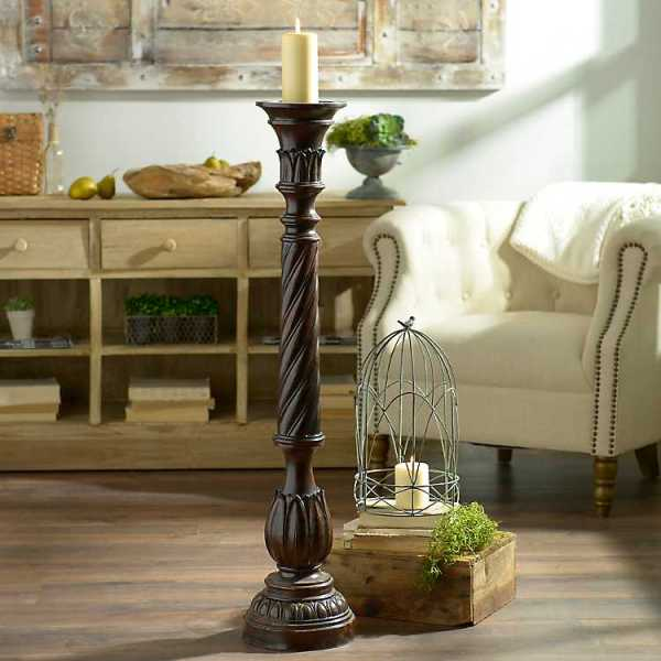 Candle Holders - Twisted Candle Holder, 42 in.