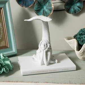 Statues & Figurines - Tail Up Mermaid Figurine