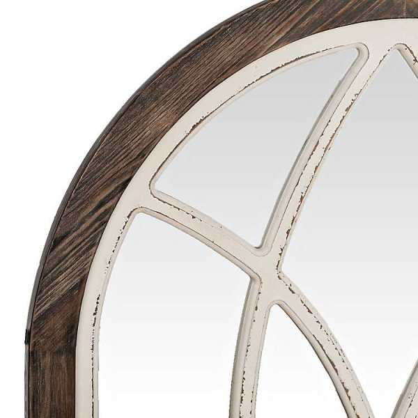Wall Mirrors - Vail Two-Tone Arch Wall Mirror