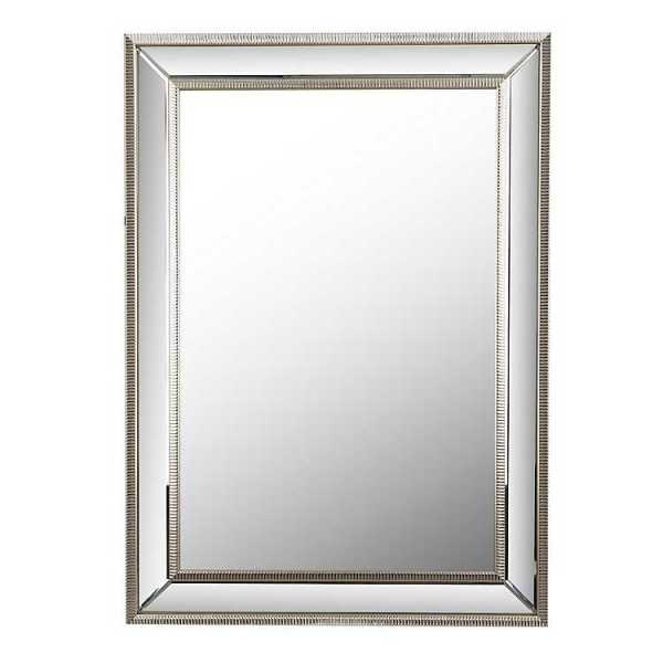 Wall Mirrors - Small Silver Luxe Mirror, 29.5x35.5 in.