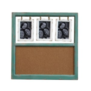 Collage Frames - Green Wood Cork Board