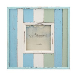 Picture Frames - Decorative Painted Wood Frame, 4x4