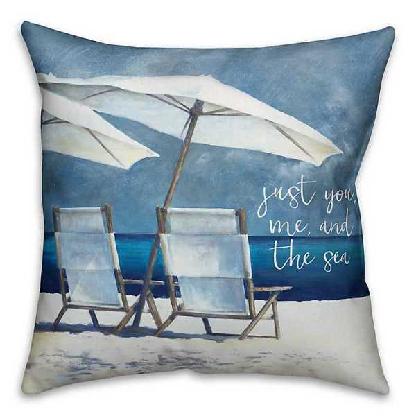 Throw Pillows - You, Me, and the Sea Pillow