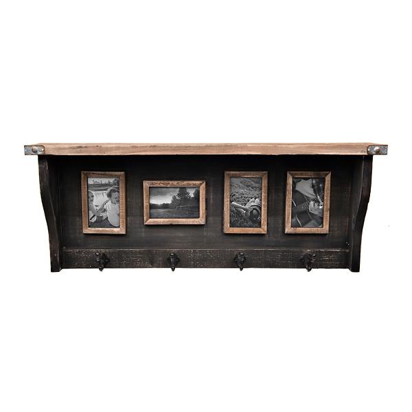Collage Frames - Wall Shelf Photo Collage - Mocome Decor on Corner Sconce Shelf Tray id=65239