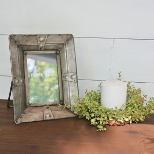 Picture Frames - Riveted Metal Picture Frame, 4x6