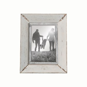 Picture Frames - Warm Gray Rustic Picture Frame, 4x6