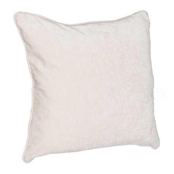 Throw Pillows - Ivory Velvet Pillow
