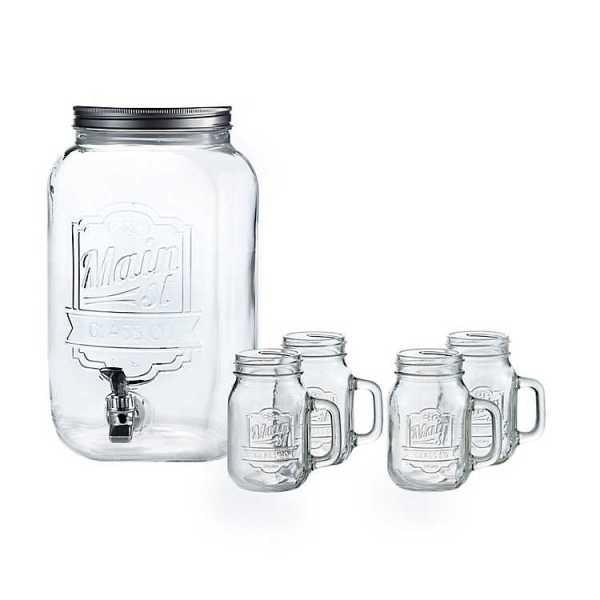 Beverage Dispensers - 2-Gallon Beverage Dispenser Set