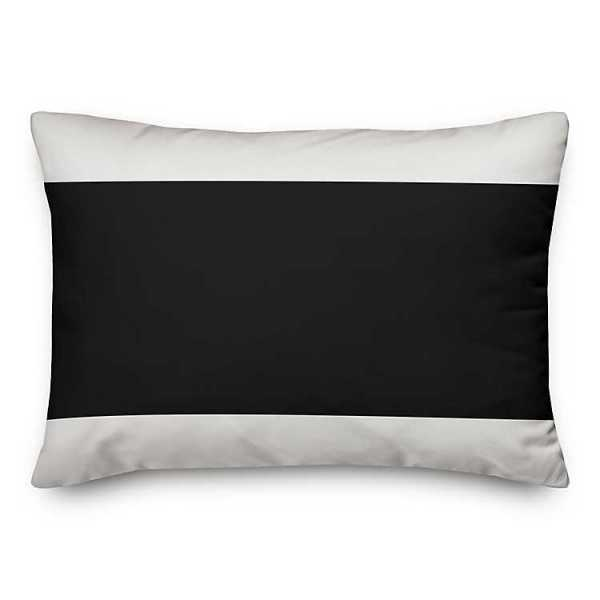 Throw Pillows - Black and White Welcome To Our Chaos Pillow