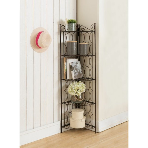 byron-brushed-copper-5-shelf-metal-corner-bookcase