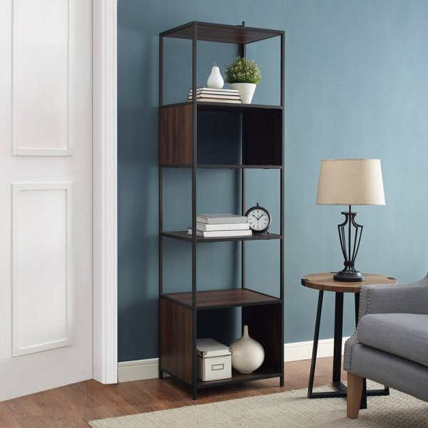 leidy-five-shelves-metal-frame-combine-wood-laminate-cube-bookcase