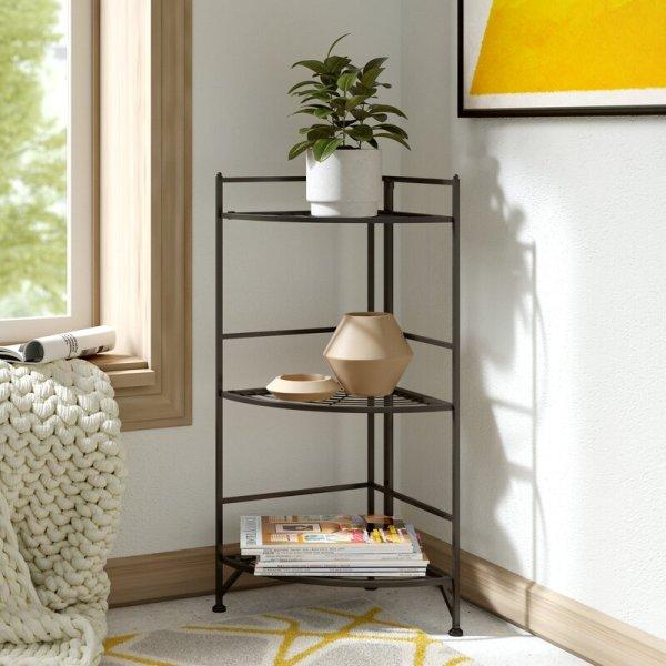 mavis-three-tier-open-metal-frame-corner-bookcase