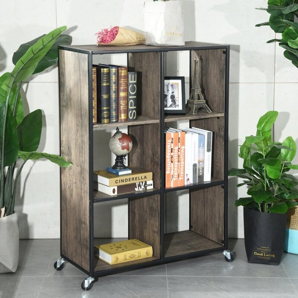 rochelle-3-tiers-shelf-with-cabinet-cube-bookcase