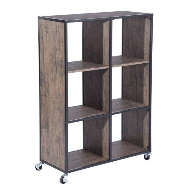 rochelle-3-tiers-shelf-with-cabinet-cube-bookcase1