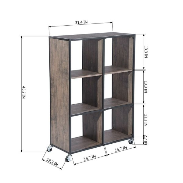 rochelle-3-tiers-shelf-with-cabinet-cube-bookcase2