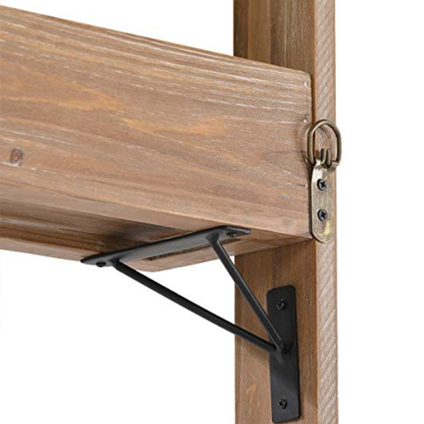 double-layer-solid-wood-and-metal-bracket-wall-frame