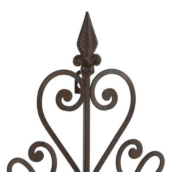 Rustic Metal Arrow Wall Decor Partial details 1