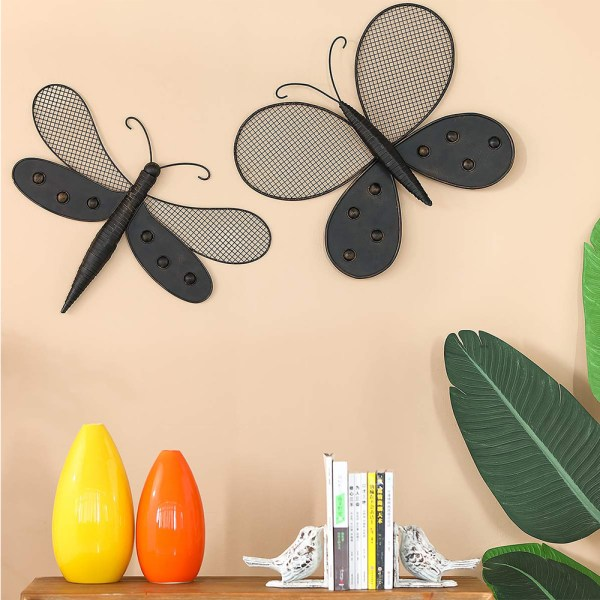 Butterfly Wall Decor and Dragonfly Wall Decor Real Shot 1