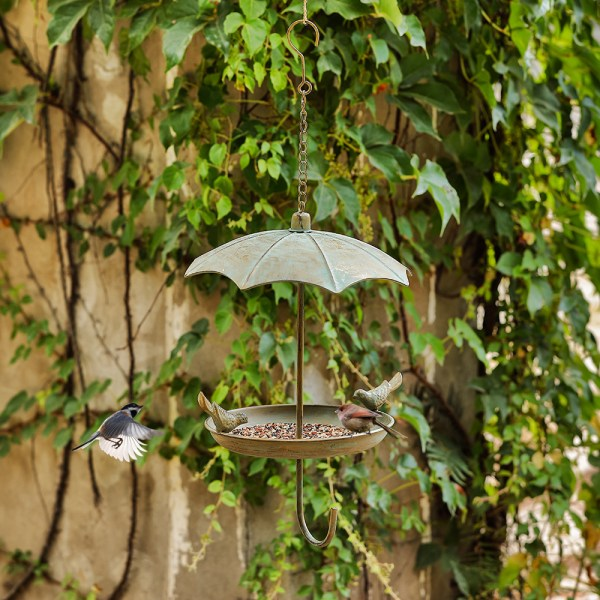 Hanging Rainproof Bird Feeders Real shot 2