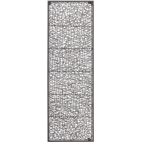Abstract Vine Wall Decor with Frame