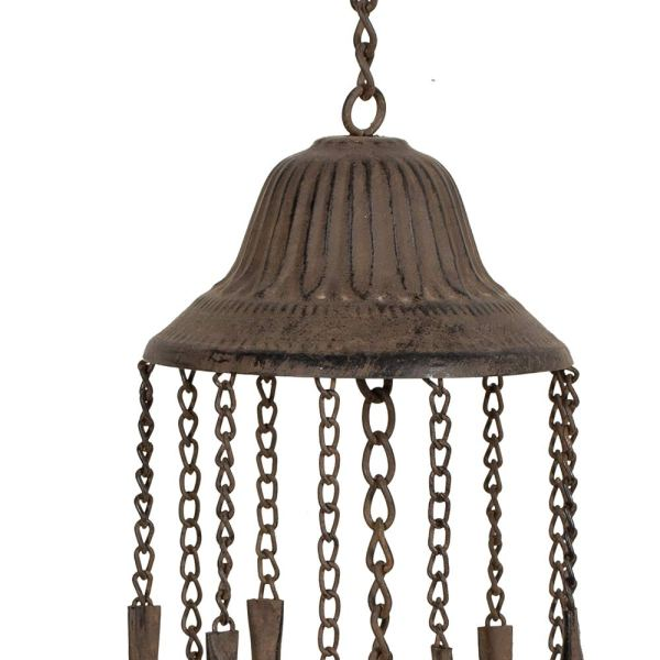 Outdoor Antique Cardinal Wind Chimes Partial details 1