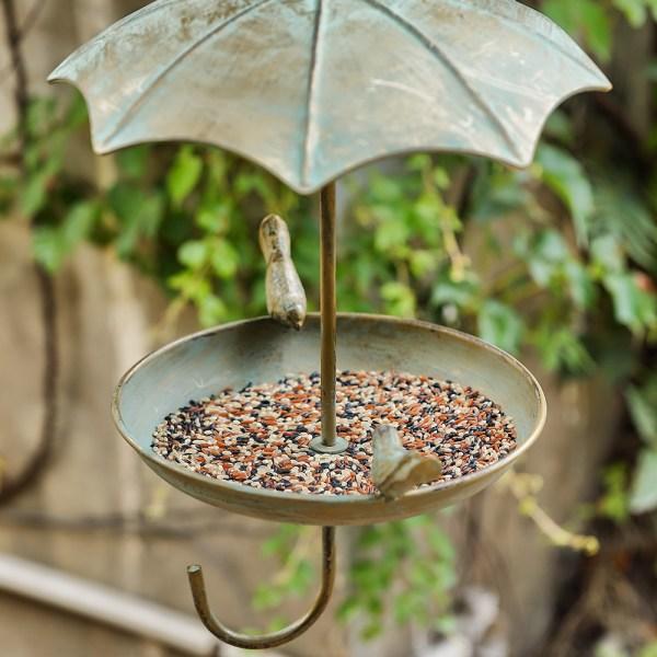 Hanging Rainproof Bird Feeders Real shot 3