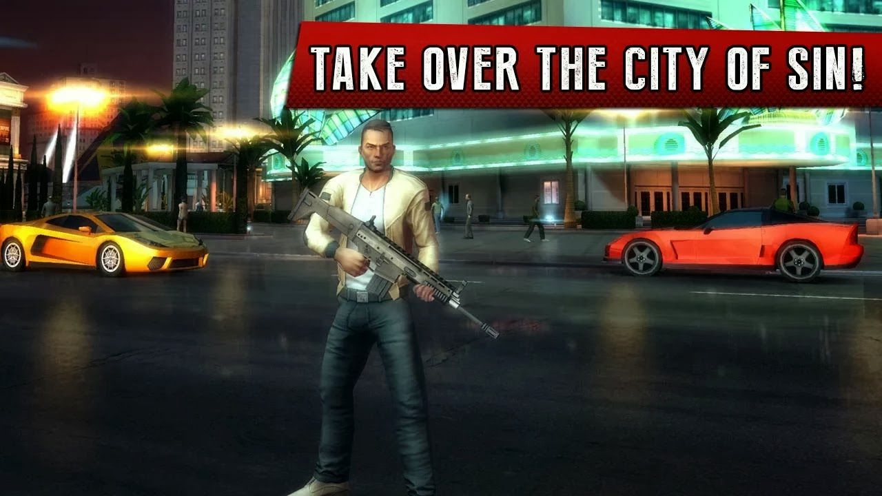 Gangstar Vegas MOD APK 3 4 1a + Unlimited Money Download Android