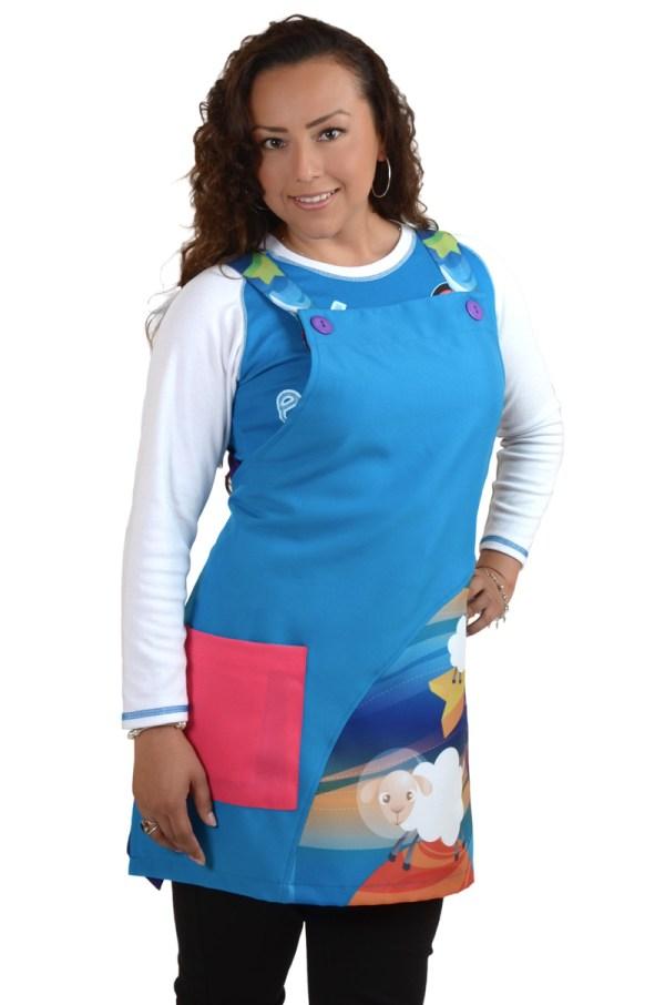 uniformes para educadoras moda claus 1