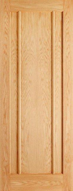 LPD Internal Oak Lincoln 3 Panel Door