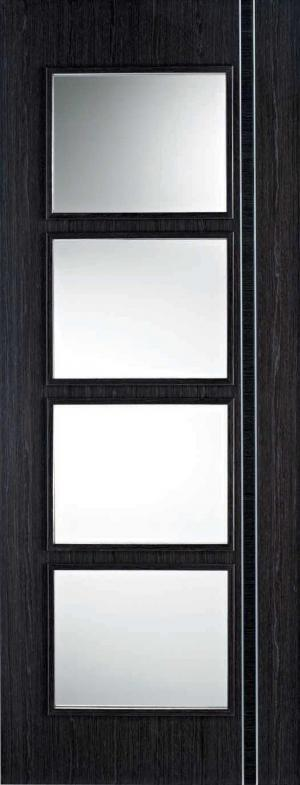 LPD Internal Ash Grey Zanzibar Glazed Door