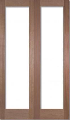 LPD Internal Pattern 20 Luan Un-Glazed Door Pair