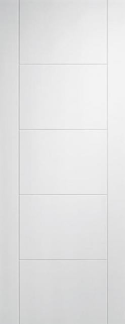 LPD Internal Vancouver White Primed Fire Door