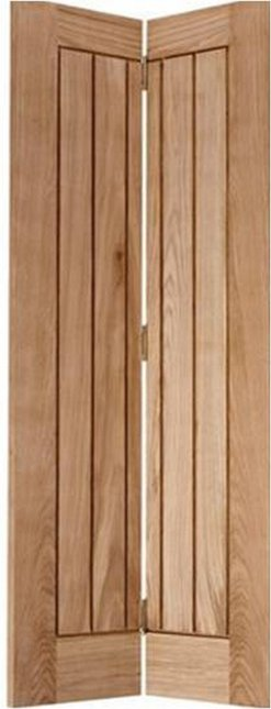 LPD Internal Mexicano Bi-Fold Oak Door