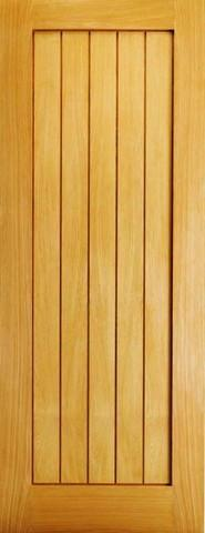 LPD Internal Oak Mexicano Slimline Door