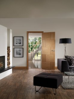 XL Joinery Internal Oak Pre-Finished Ravenna Door