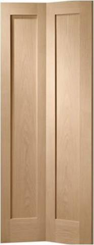 XL Joinery Internal Oak Pattern 10 Bi-Fold Door