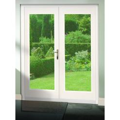 XL Joinery External Pre-Finished White La Porte French Door Set
