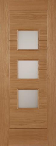Mendes External Oak Monza Acid Glazed Door