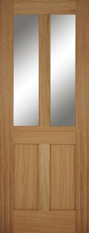 Mendes Internal Oak Bristol 2 Light Fire Door