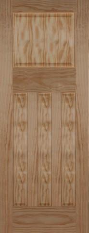 Mendes Internal Pine 1930 4 Panel Fire Door
