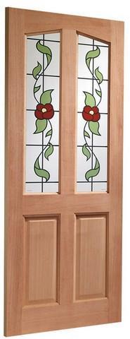 XL Joinery External Hardwood M&T Single Glazed Richmond Door