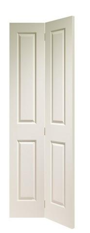 XL Joinery Internal White Moulded Victorian 4 Panel Bi-Fold Door