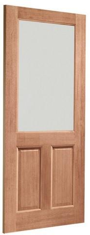 XL Joinery External Dowelled 2XG Clear Glass with Double Glazing Door