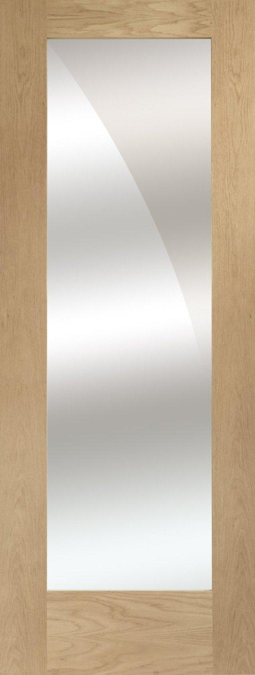 XL Joinery Internal Pattern 10 Oak with Mirrored Door