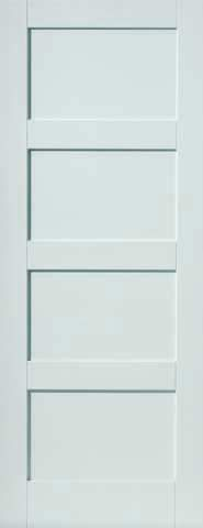 JB Kind Internal White Montserrat Fire Door